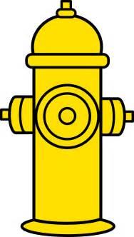 Yellow Fire Hydrant Clip Art