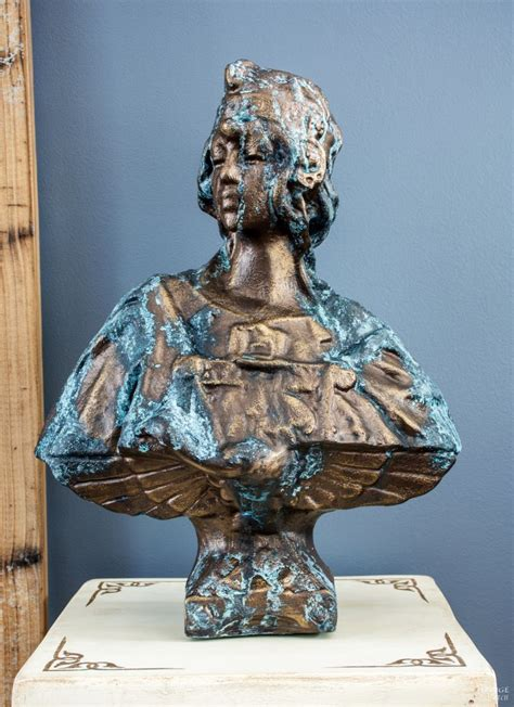 create faux patina oxidized bronze finish tutorial
