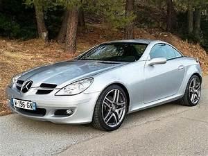 Mercedes Cabriolet Occasion : annonce vendue mercedes classe slk r171 280 cabriolet gris clair occasion 17 400 64 000 km ~ Medecine-chirurgie-esthetiques.com Avis de Voitures