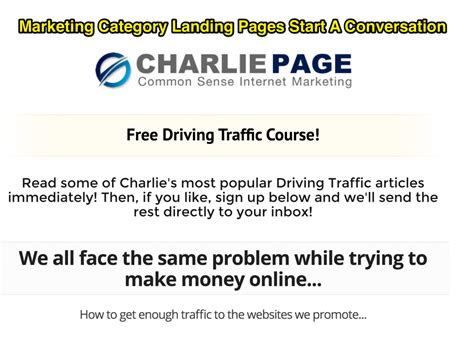 Five Ways To Monetize Your Blog  Charlie Page