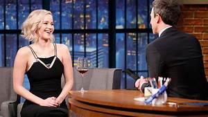 Jennifer Lawrence Reveals Random Celeb Crushes - YouTube