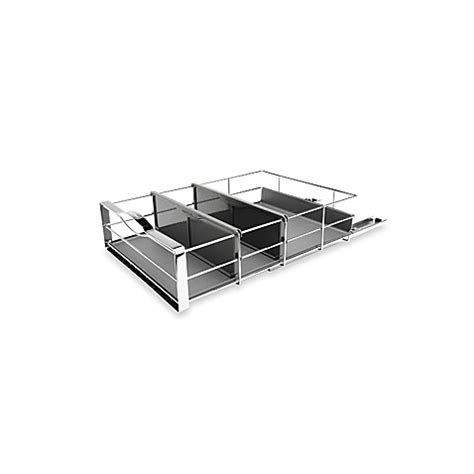 Simplehuman 14 Inch Pull Out Cabinet Organizer In Grey