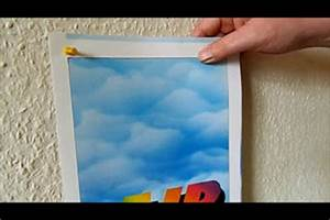 Bilderrahmen Aufhängen Ohne Nagel : bilder mit beleuchtung selber bauen ideen f r eine ausgefallene wandgestaltung ~ Indierocktalk.com Haus und Dekorationen