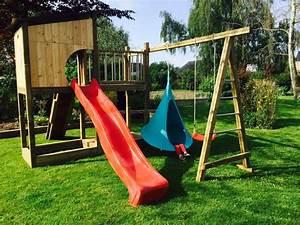 Jeux En Bois Extérieur : jeux exterieur bois ~ Premium-room.com Idées de Décoration