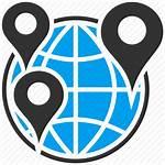 Icon Gps Globe Map Travel Earth Navigation