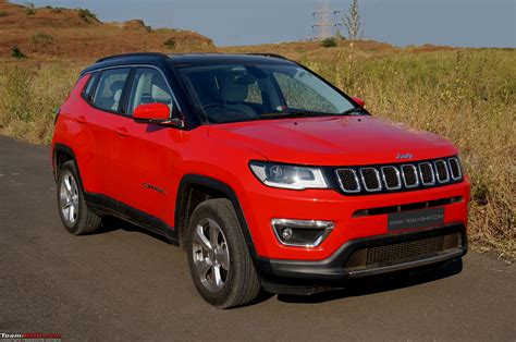 Review Jeep Compass by Jeep Compass Petrol At Official Review Team Bhp