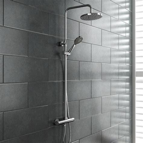 Shower Pics - madrid modern thermostatic shower