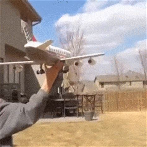 model plane gifs find share  giphy