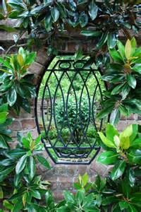 Charleston Wrought Iron Garden Gate