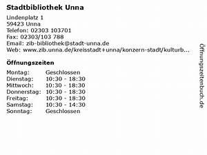 Ikea Unna öffnungszeiten : ffnungszeiten stadtbibliothek unna lindenplatz 1 in unna ~ Watch28wear.com Haus und Dekorationen
