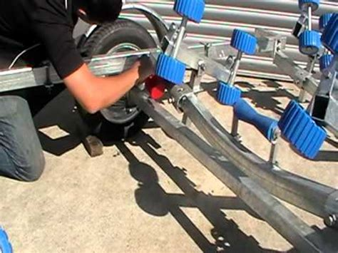 Boat Trailer Maintenance by Boat Trailer Maintenance Oiling The Springs
