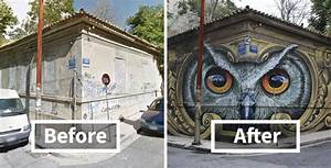 10 Incredible Before  U0026 After Street Art Transformations That U2019ll Make You Say Wow  U2013 My Street