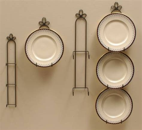 plate hangers curly cue vertical holders plate racks  hangers