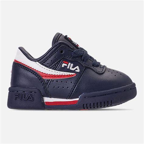 boys toddler fila original fitness casual shoes finish