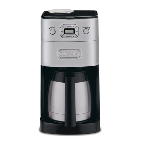 Cuisinart Stainless Steel 10 Cup Programmable Coffee Maker (DGB 650C)   Lowe's Canada