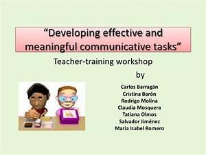 English teachers - training workshop