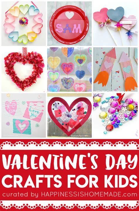 easy s day craft 20 easy valentine crafts for kids happiness is homemade