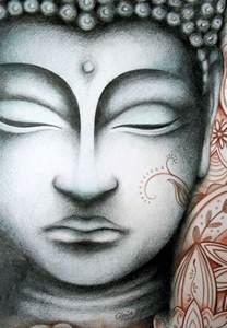 Buddha Face Drawing