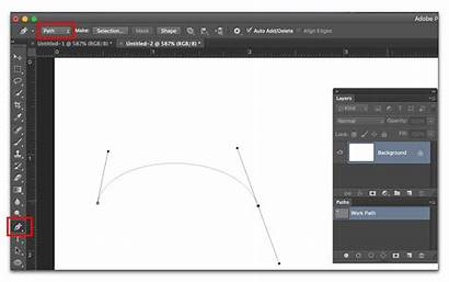 Adobe Photoshop Line Curved Draw Curve Cc