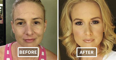 46 Beforeandafter Pics Reveal The Power Of Makeup By