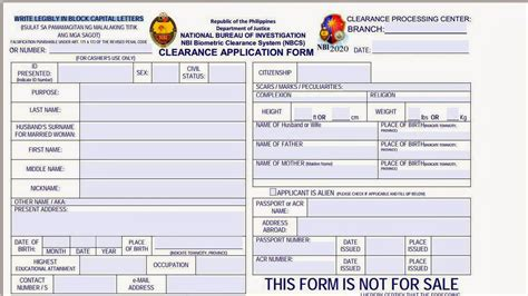 tips    apply nbi clearance easily combinebasic