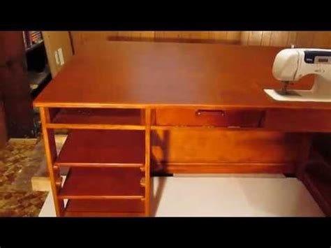 plans to build a desk quilt table sewing table part 1 of 2