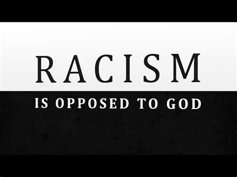 racism  opposed  god tim conway ill  honest