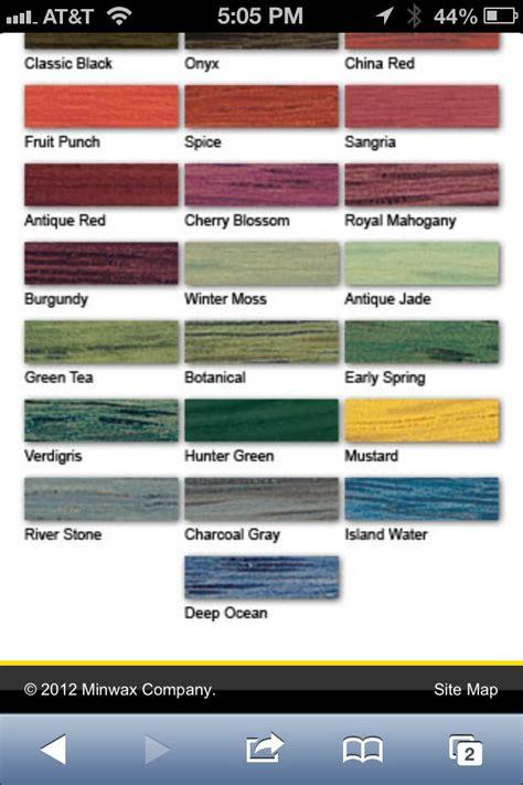 polyshades color chart polyshades colors minwax stain color chart minwax stain