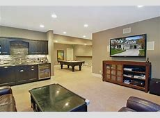 Huge tv and big seating area Basement Pinterest