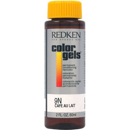 9n hair color redken color gels permanent conditioning haircolor 9n