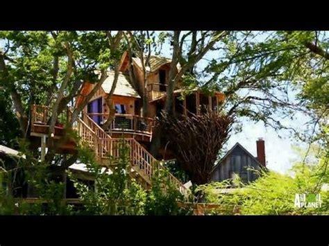 Behind The Build Bird Nest Tree  Treehouse Masters Youtube