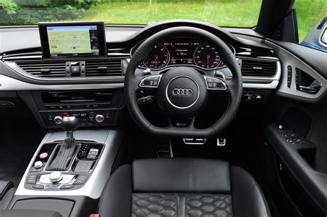 audi rs sportback performance interior uk   car