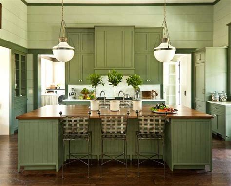 green painted kitchen cabinets green cabinets cottage kitchen sherwin williams