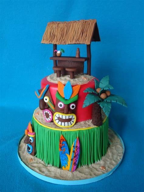 hawaiian luau cakes sweet mischief ja cake ideas