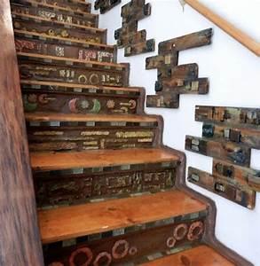 Deco Marche Escalier : l 39 escalier moderne en 110 photos magnifiques ~ Teatrodelosmanantiales.com Idées de Décoration