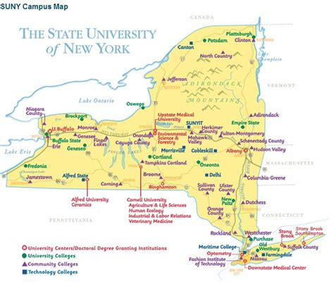andreasprblogspotcom colleges   york state map