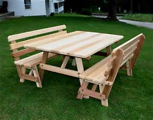 8 Person Rectangular Patio Table by Picnic Tables