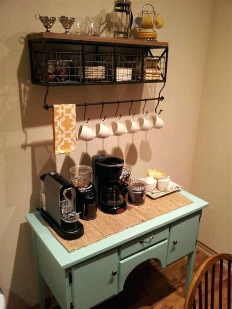 Diy coffee bar tailored from scratch. 50 DIY Coffee Bar Ideas inside the Home for Coffee Enthusiast