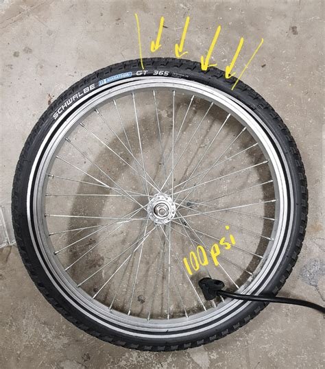Inner New High Quality  Ee  Tire Ee   Doesnt Sit Evenly On