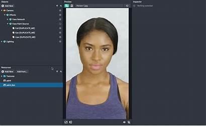 Face Paint Snapchat Lens Mask Texture Studio