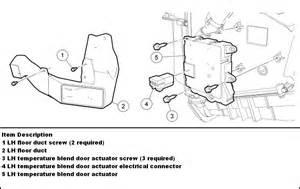 ford focus firing order 2004 ford explorer blend door actuator part
