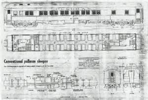 Pullman Sleeper Car Floor Plans