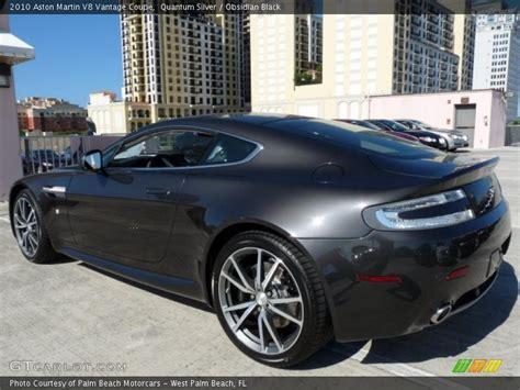 2010 Aston Martin V8 Vantage Coupe In Quantum Silver Photo