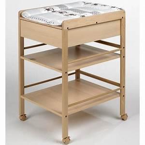 Table à Langer Bois : table langer hauteur ~ Teatrodelosmanantiales.com Idées de Décoration