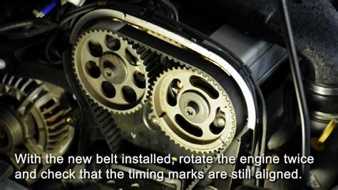 astra turbo zlet timing belt install part