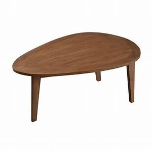 Table Bois Exotique : table basse galet bois exotique fanny pier import ~ Farleysfitness.com Idées de Décoration