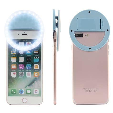 led light for phone mini clip on mobile phone selfie ring selfie led light
