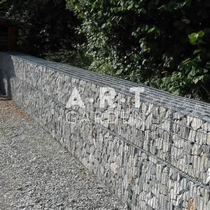 Mur De Cloture En Gabion : comment utiliser son gabion art garden ~ Edinachiropracticcenter.com Idées de Décoration