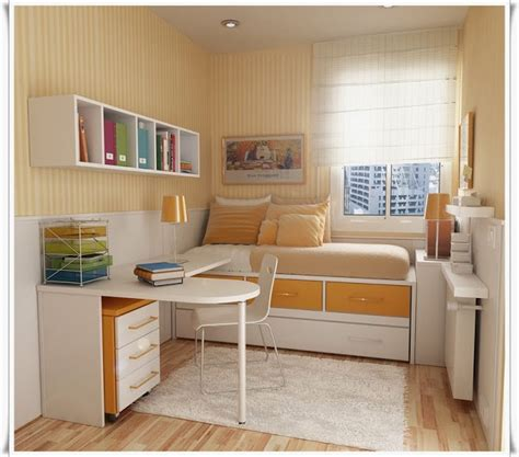 desain kamar tidur ukuran kecil sedehana minimalis