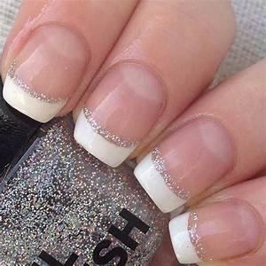 31 Elegant Wedding Nail Art Designs | Silver glitter, Prom ...